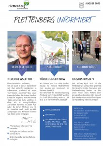2020_08 Newsletter Stadt Plettenberg
