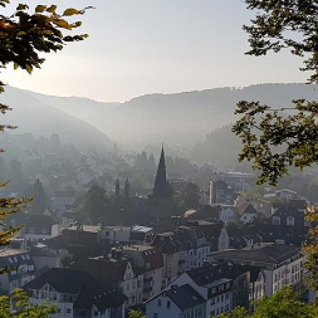 Hestenberg am frühen Morgen
